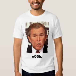 George-W-Bush, n00b. Tshirt