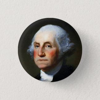 George Washington 3 Cm Round Badge