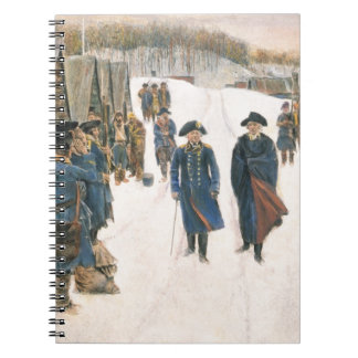 George Washington and Baron von Steuben Notebook