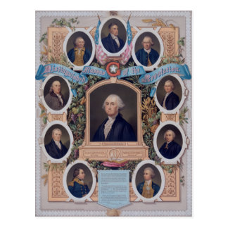 George Washington and The Masons Of The Revolution Postcard