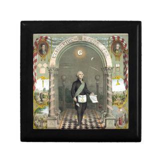 George Washington as a Freemason Gift Box