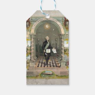 George Washington as a Freemason Gift Tags