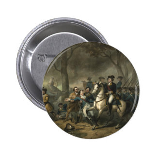 George Washington as a Soldier button
