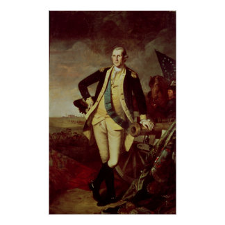 George Washington at Princeton, 1779 Poster
