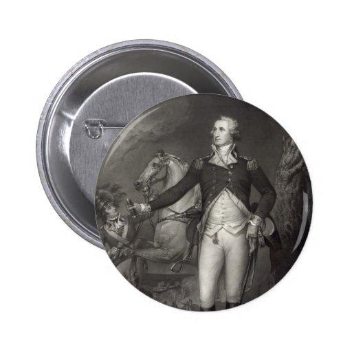 """George Washington at Trenton"" buttons"