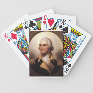George Washington Bicycle Playing Cards