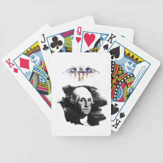 George Washington Bicycle Playing Cards