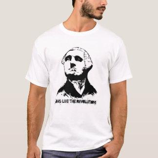 George Washington black T-Shirt