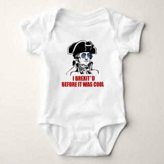 George Washington Brexit 1776 EU Flag Sunglasses Baby Bodysuit
