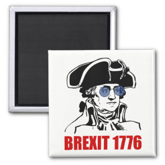 George Washington Brexit 1776 EU Flag Sunglasses Magnet
