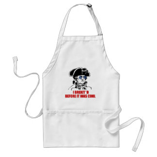 George Washington Brexit 1776 EU Flag Sunglasses Standard Apron