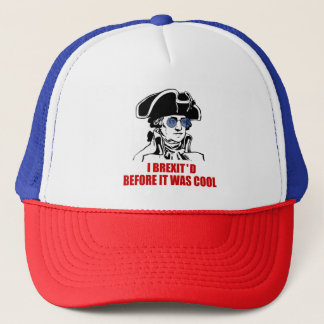 George Washington Brexit 1776 EU Flag Sunglasses Trucker Hat