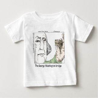 George Washington Bridge & Dentures Funny Gift Baby T-Shirt
