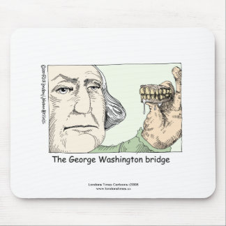 George Washington Bridge Funny Mouse Pad