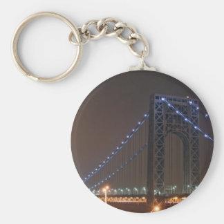 George Washington Bridge Key Ring