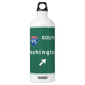 George Washington Bridge NYC New York City NY SIGG Traveller 1.0L Water Bottle