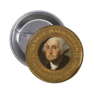 George Washington Campaign Button