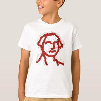 George Washington Cherry Portrait T-Shirt