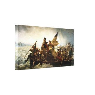 George Washington Crossing the Delaware Print Canvas Print