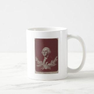 George Washington Eagle Stars Stripes USA Portrait Coffee Mug