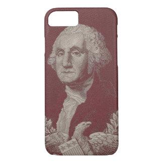 George Washington Eagle Stars Stripes USA Portrait iPhone 8/7 Case