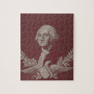 George Washington Eagle Stars Stripes USA Portrait Jigsaw Puzzle