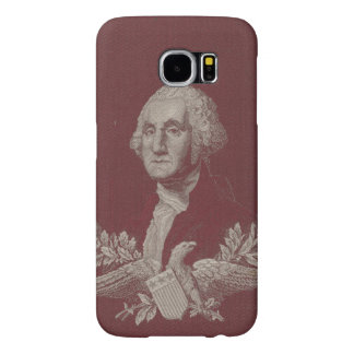 George Washington Eagle Stars Stripes USA Portrait Samsung Galaxy S6 Cases