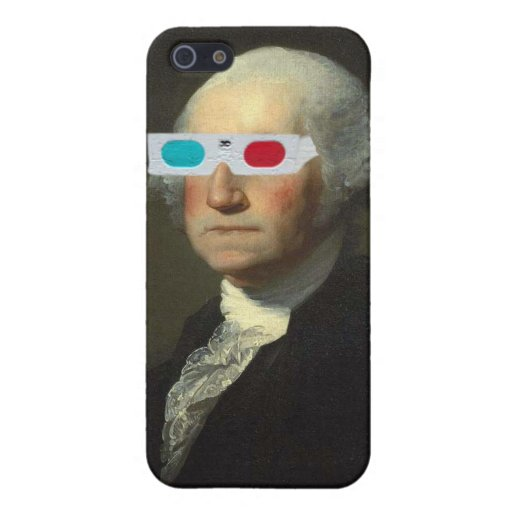 George Washington enjoys 3D Street Art Cover For iPhone 5
