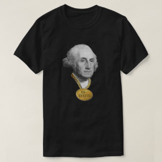 George Washington (G-Dub) Blinged Out Funny T-Shirt