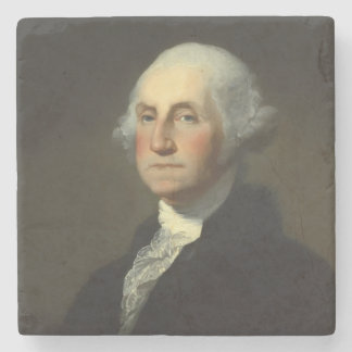 George Washington Historic Portrait Stone Coaster