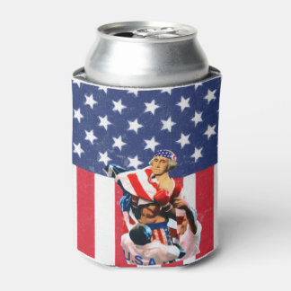 George Washington - Independence Day Can Cooler