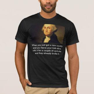 George Washington Kids Broke It T-Shirt
