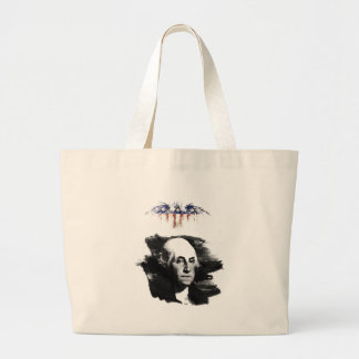 George Washington Large Tote Bag