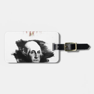 George Washington Luggage Tag