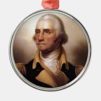 George Washington Metal Ornament