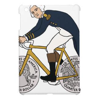 George Washington On Bike With Quarter Wheels iPad Mini Covers