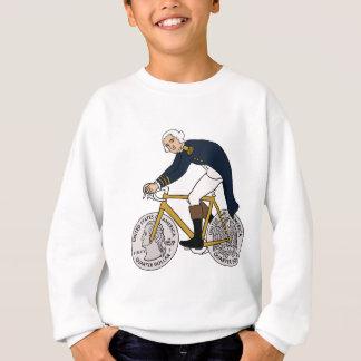 George Washington On Bike With Quarter Wheels Sweatshirt