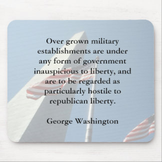 George Washington on the Military Mousepad