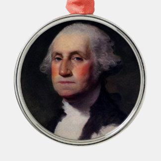 George Washington Portrait 1 Metal Ornament