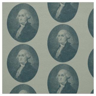 George Washington Portrait Oval Fabric