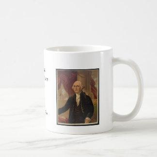 George Washington Portrait & Quote Mug