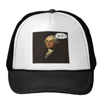 George Washington Spinning in His Grave Funny Cap