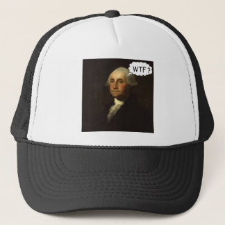 George Washington Spinning in His Grave Funny Trucker Hat
