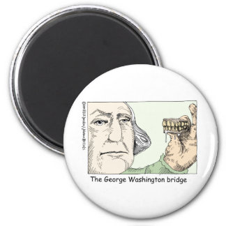 George Washington Teeth Funny Gifts & Collectibles Refrigerator Magnets