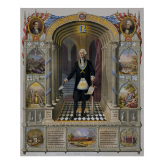 George Washington, The Mason II Poster