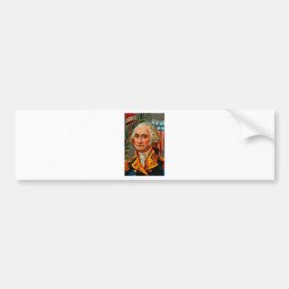 George Washington Vintage Bumper Sticker