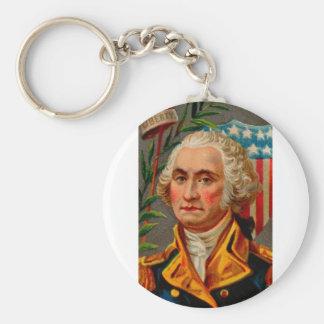 George Washington Vintage Key Ring