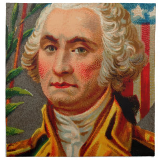 George Washington Vintage Napkin