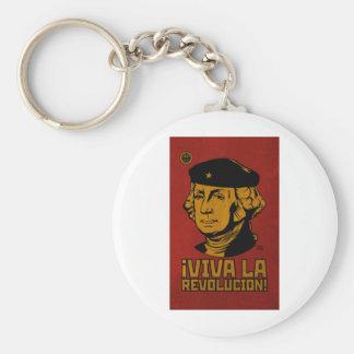 George Washington: Viva La Revolucion! Keychain