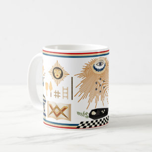 Masonic Skull Drinkware | Zazzle com au